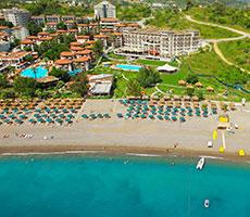 Justiniano Deluxe Resort viesnīca (Antālija, Turcija)