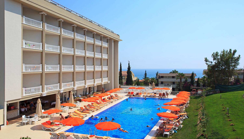 Justiniano Deluxe Resort hotell (Antalya, Türgi)