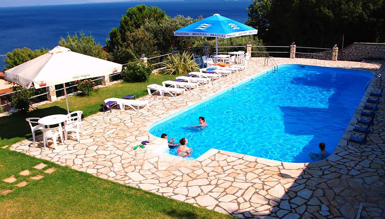 Anna Apartments viesnīca (Korfu, Grieķija)