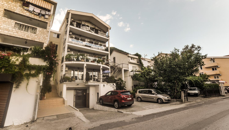 Mijovic apartemendid hotell (Tivat, Montenegro – Horvaatia)